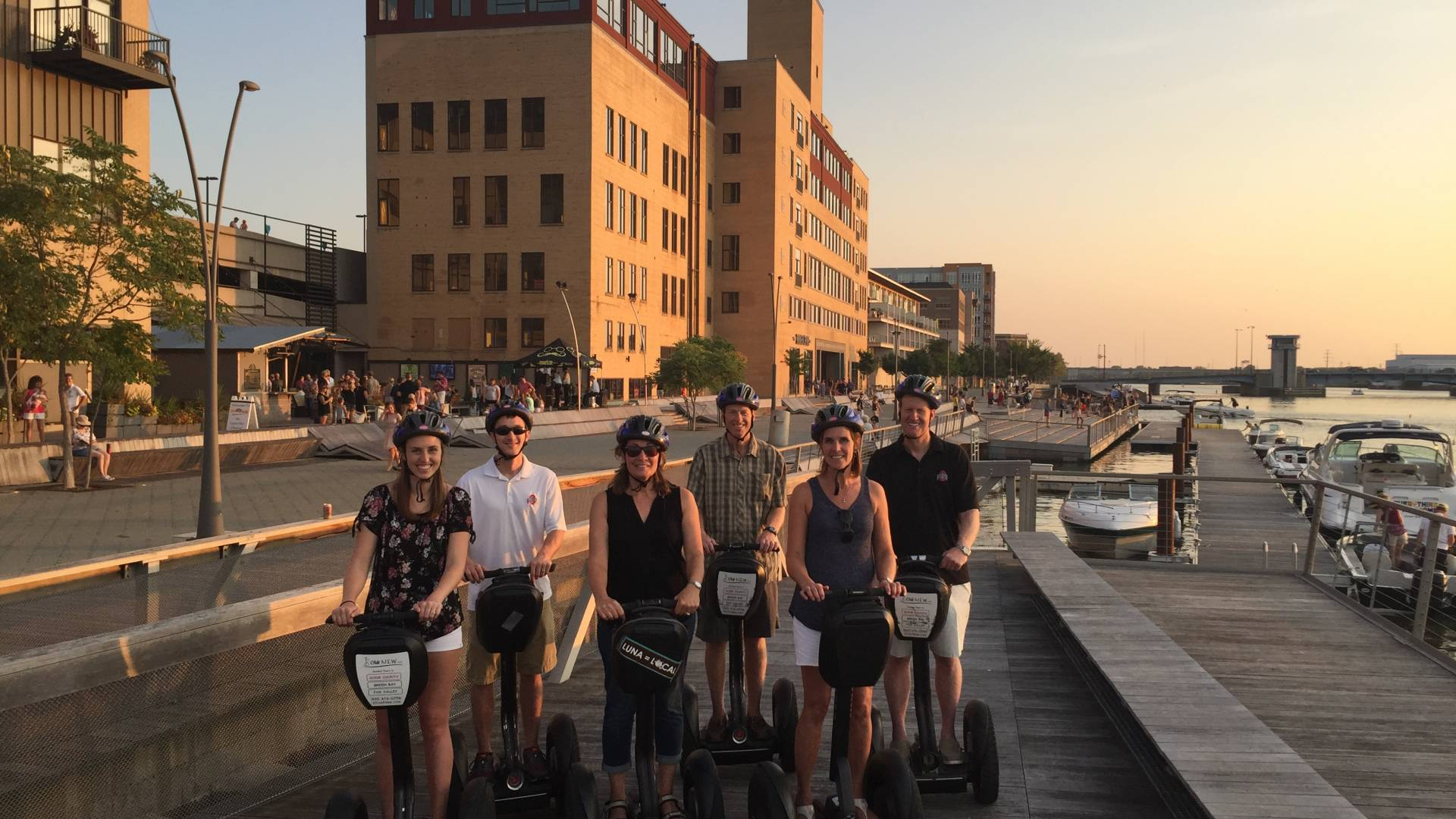 Explore Downtown Green Bay and other areas of our community from a different perspective - aboard your own segway.